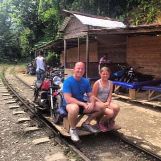 La Brujita - the jungle train